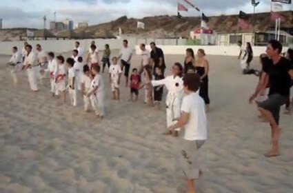 Beach Training, 2009 Part 1