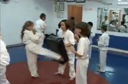 Training in Rishon-Le-Zion Dojo
